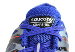 Saucony Mens Omni 16 Mens 2E Wide Width Cushioned Athletic Shoes