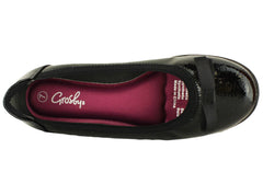 Grosby Hillary Womens Ballet Memory Foam Comfort Shoes
