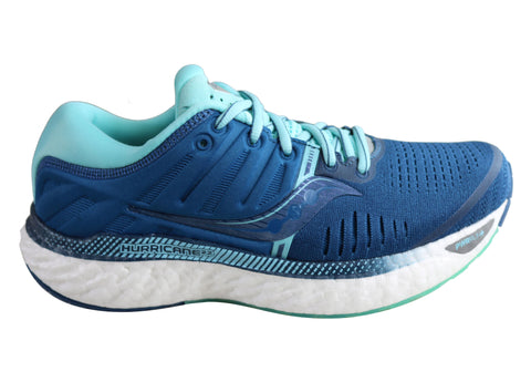 Saucony Womens Hurricane 22 Comfortable Athletic Running Shoes