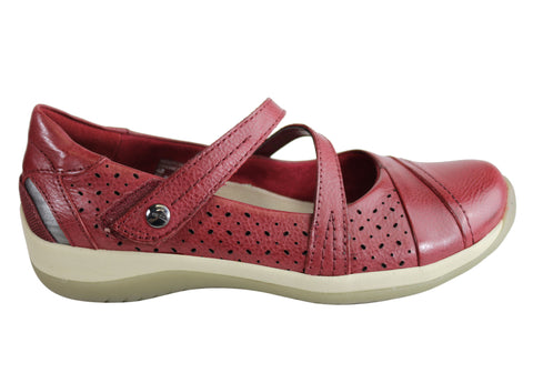 Earth Newton2 Womens Leather Comfy Mary Jane Memory Foam Footbed Shoes