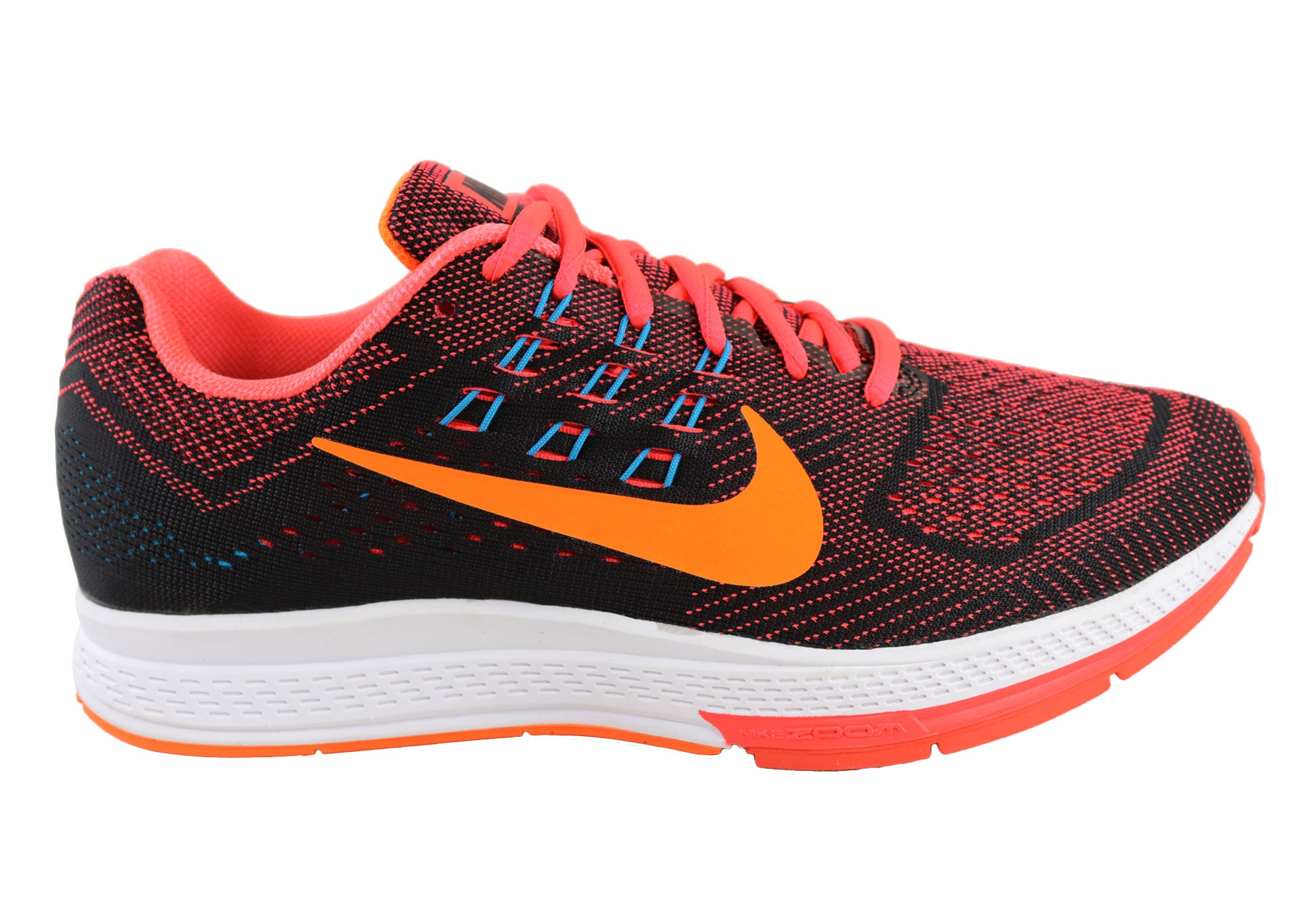 d520b5117ac Home Nike Mens Air Zoom Structure 18 Premium Running Sport Shoes.  Red Orange · Grey Yellow · Black  ...