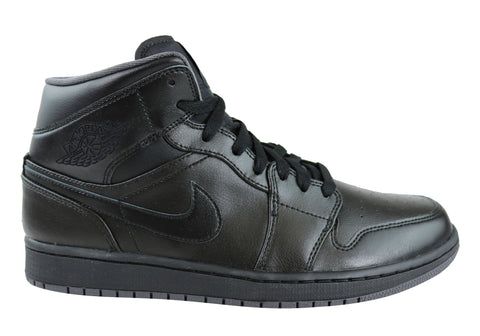 Nike Air Jordan 1 Mid Leather Hi Tops Basketball Shoes