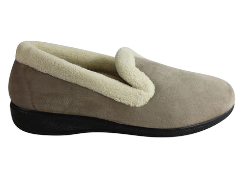 Scholl Orthaheel Delight Womens Comfortable Supportive Indoor Slippers