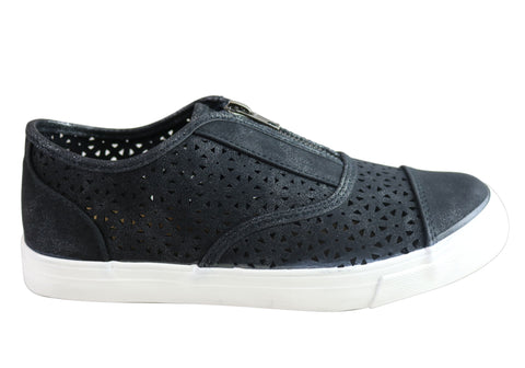 Planet Shoes Daisy Womens Comfortable Casual Zip Shoes