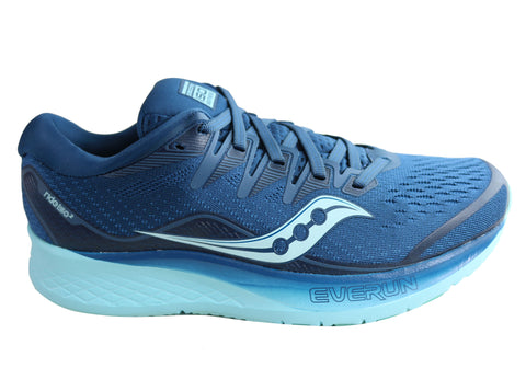 Saucony Womens Ride ISO 2 Comfortable Athletic Running Shoes