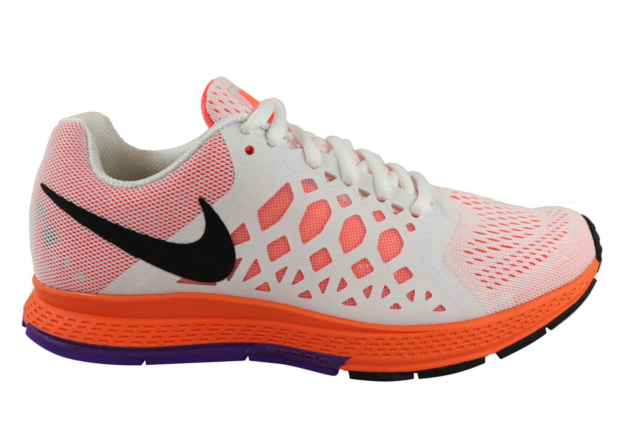 5db150c975da Home Nike Air Zoom Pegasus 31 Womens Cushioned Sport Running Shoes. White  ...