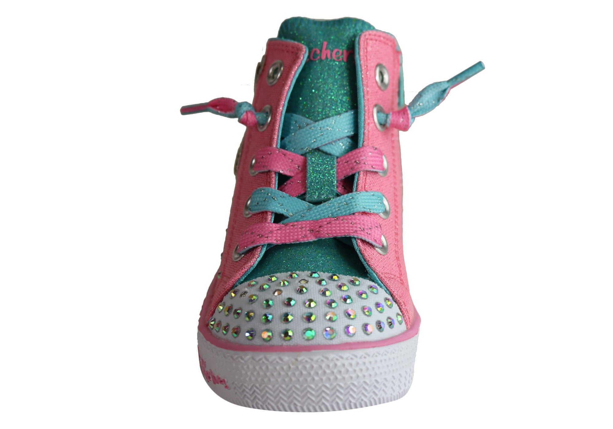 1ba5f71e0d38a Details about NEW SKECHERS INFANT GIRLS TWINKLE TOES TWINKLE LITE UNICORN  MINI SHOES