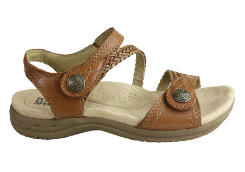 Planet Shoes Crop Womens Cushioned Comfortable Supportive Flat Sandals