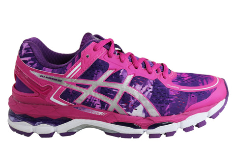 Asics Womens Gel-Kayano 22 Premium Cushioned Shoes