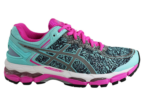 Asics Womens Gel-Kayano 22 Lite Show Premium Cushioned Running Shoes
