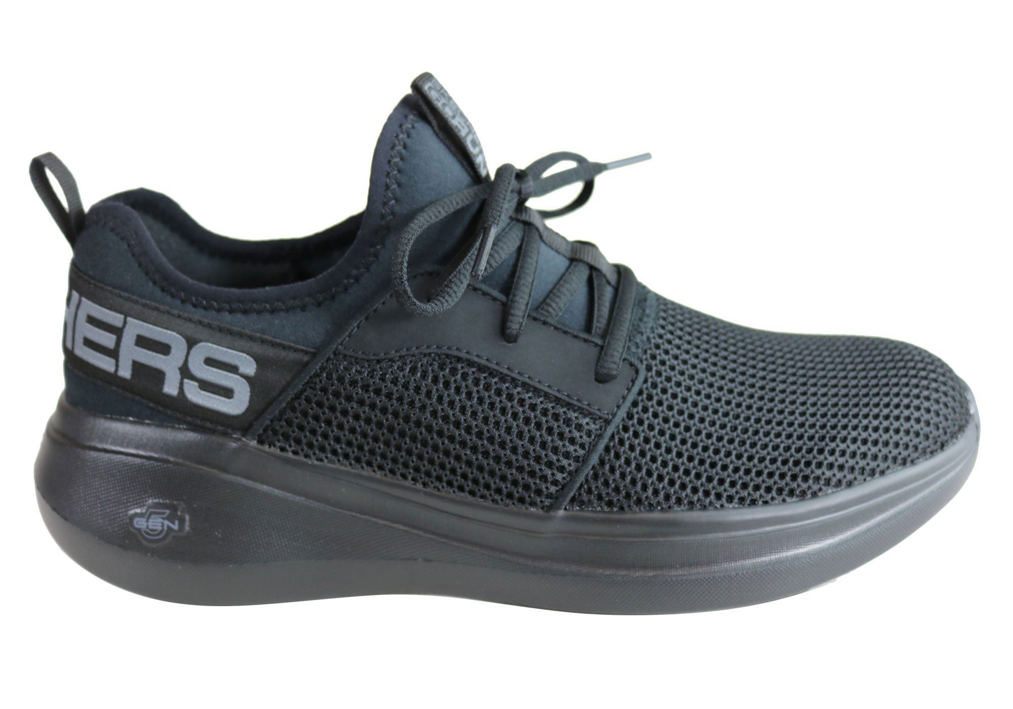 504d1623d250 Home Skechers Womens Go Run Fast Valor Lightweight Cushioned Athletic  Shoes. Black ...