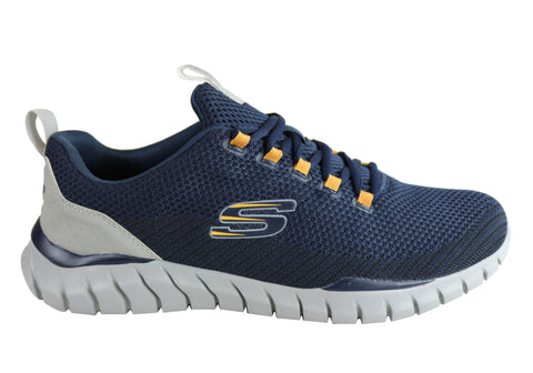 Skechers Mens Overhaul Landhedge Memory Foam Comfort Athletic Shoes