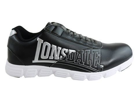 Lonsdale London Mens Recoil Slip On Athletic Shoes