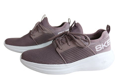 Skechers Womens Go Run Fast Valor Lightweight Cushioned Athletic Shoes