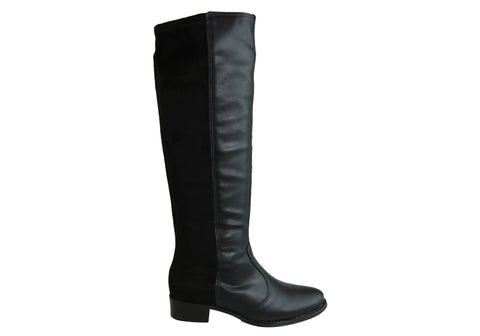 Beira Rio Conforto Womens Comfortable Knee High Boots Made In Brazil
