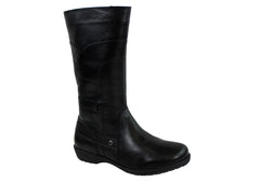 Cabello 306 Womens Leather Boots Made In Turkey