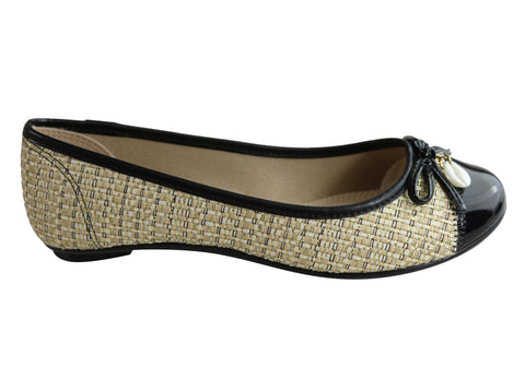 Donna Velenta By Moleca Halo Womens Comfy Flats Shoes Made In Brazil