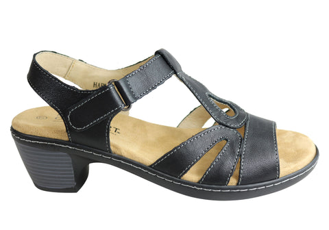 Natural Comfort Harlem Womens Cushioned Comfortable Leather Sandals