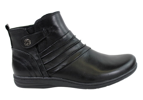 Planet Shoes Huron Womens Leather Ankle Boots