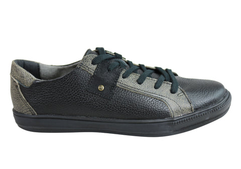 Andacco Toby Mens Leather Comfortable Casual Shoes Made In Brazil