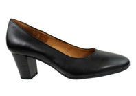 Aerobics Hostess 55 Womens Classic Leather Court Shoe Made In Portugal