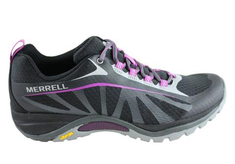 Merrell Siren Edge Womens Comfort Lace Up Shoes