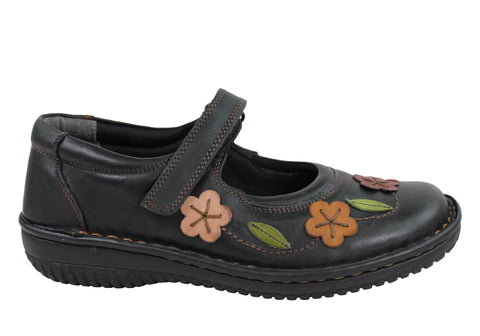 Cabello 786 Womens Mary Jane Shoes Made In Turkey