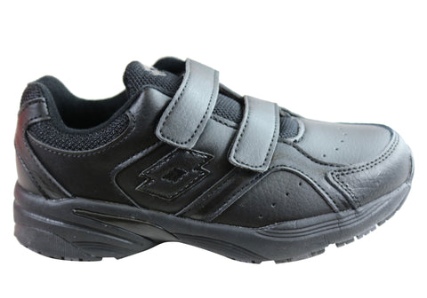 Lotto Multi Trainer Kids Comfortable Adjustable Strap Athletic Shoes