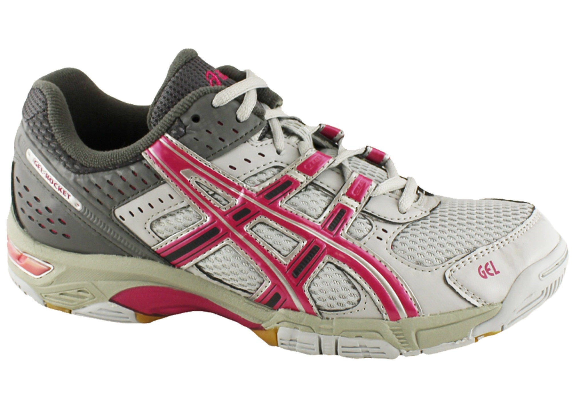 Ebay Rocket Sports Asics Womens Shoes Netball Gel Trainers New 8wSqpEax