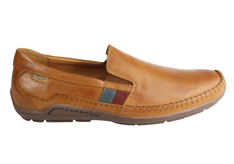 Pikolinos Azores Mens Leather Slip On Comfortable Shoes Made In Spain