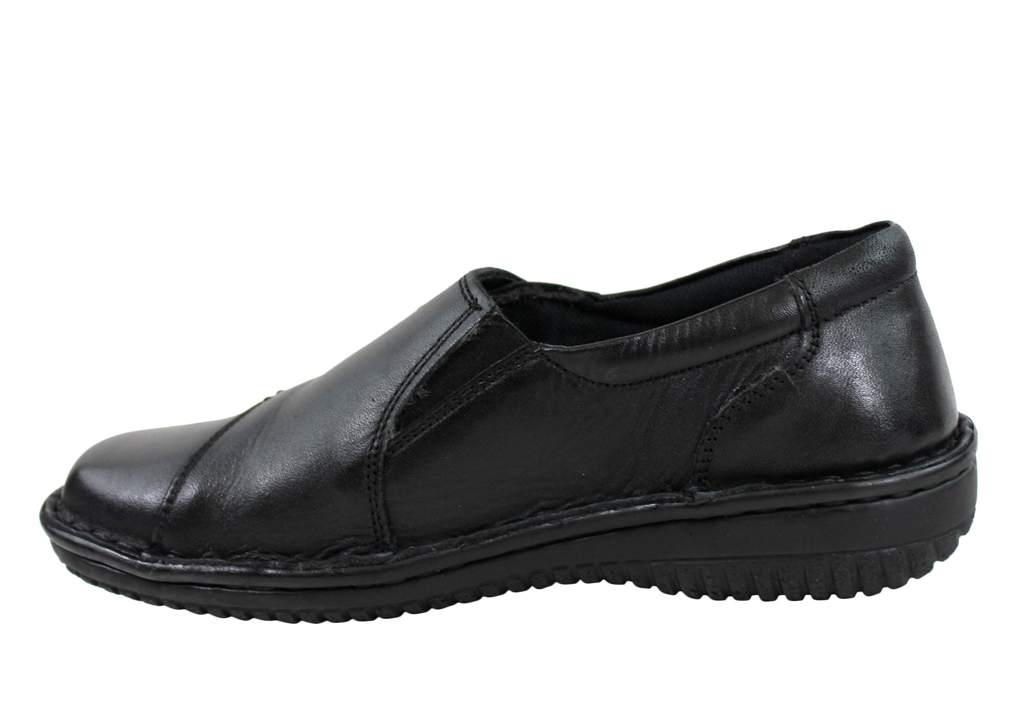Cabello 5440-27 Womens Leather Shoes Made In Turkey