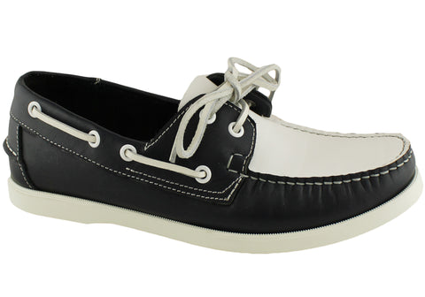Saint Valentine Angus Mens Leather Boat Shoes