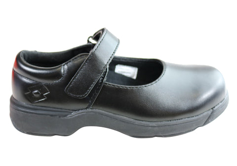 Lotto Mary Jane Girls Youth Kids Comfortable Leather School Shoes