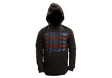 Adidas Originals Mens Lunar Repeat Graphic Hoodie
