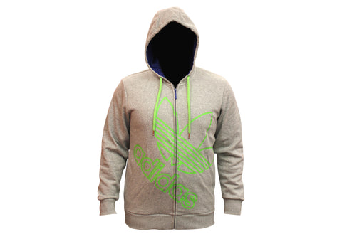 Adidas Originals Mens Ost Fleece Graphic Zip Hoodie