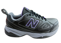 New Balance Womens 627 Wide Fit Steel Toe Slip Resistant Safety Shoes