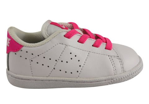 Nike Tennis Classic Premium Toddler Girls Leather Lace Up Shoes