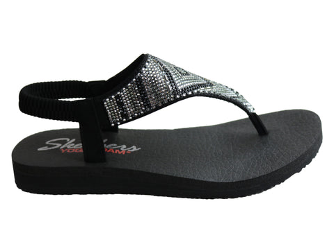 Skechers Womens Meditation Gypsy Glam Comfortable Sandals