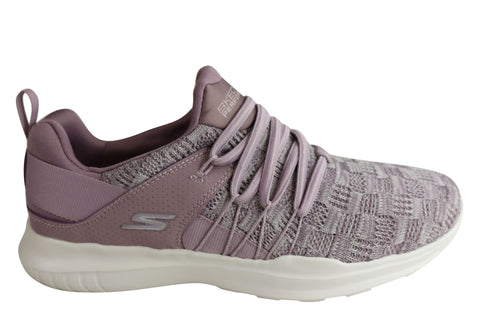 Skechers Womens Go Run Mojo Facilitate Cushioned Athletic Shoes