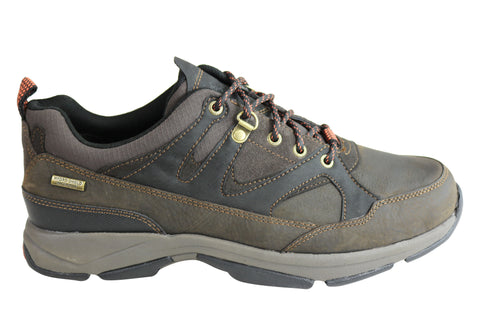 Rockport Mens XCS Sawyers Low Waterproof Comfortable Casual Shoes