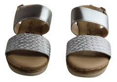 Lola Canales Celina Womens Comfortable Leather Sandals Made In Spain