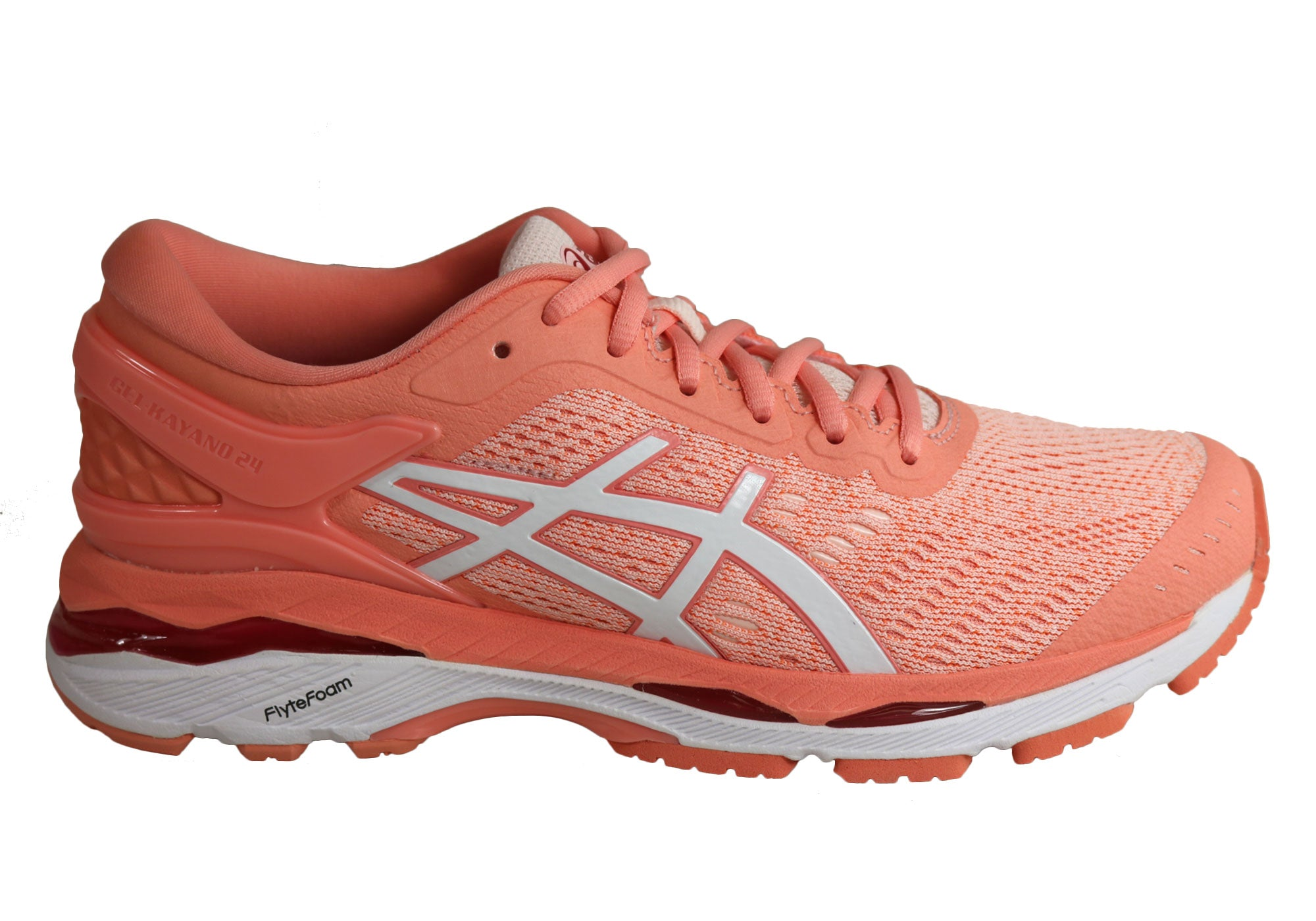 new product c623d 1a0e7 Asics Gel-Kayano 24 Womens Premium Cushioned Running Sport Shoes