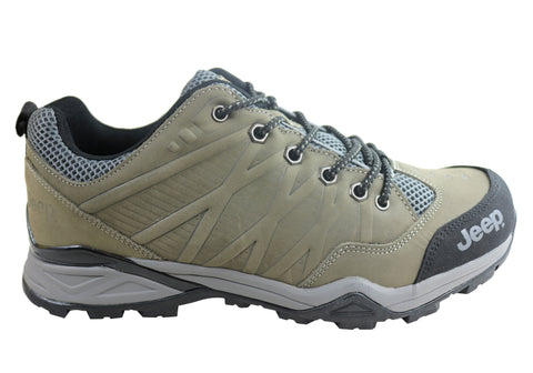 Jeep Mens Outland Comfortable Durable Lace Up Shoes