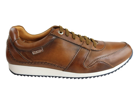 Pikolinos M2A-6059 Mens Premium Leather Lace Up Casual Shoes