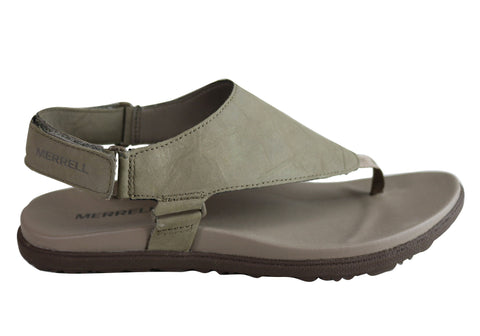 Merrell Womens Around Town Sunvue Post Womens Comfortable Sandals