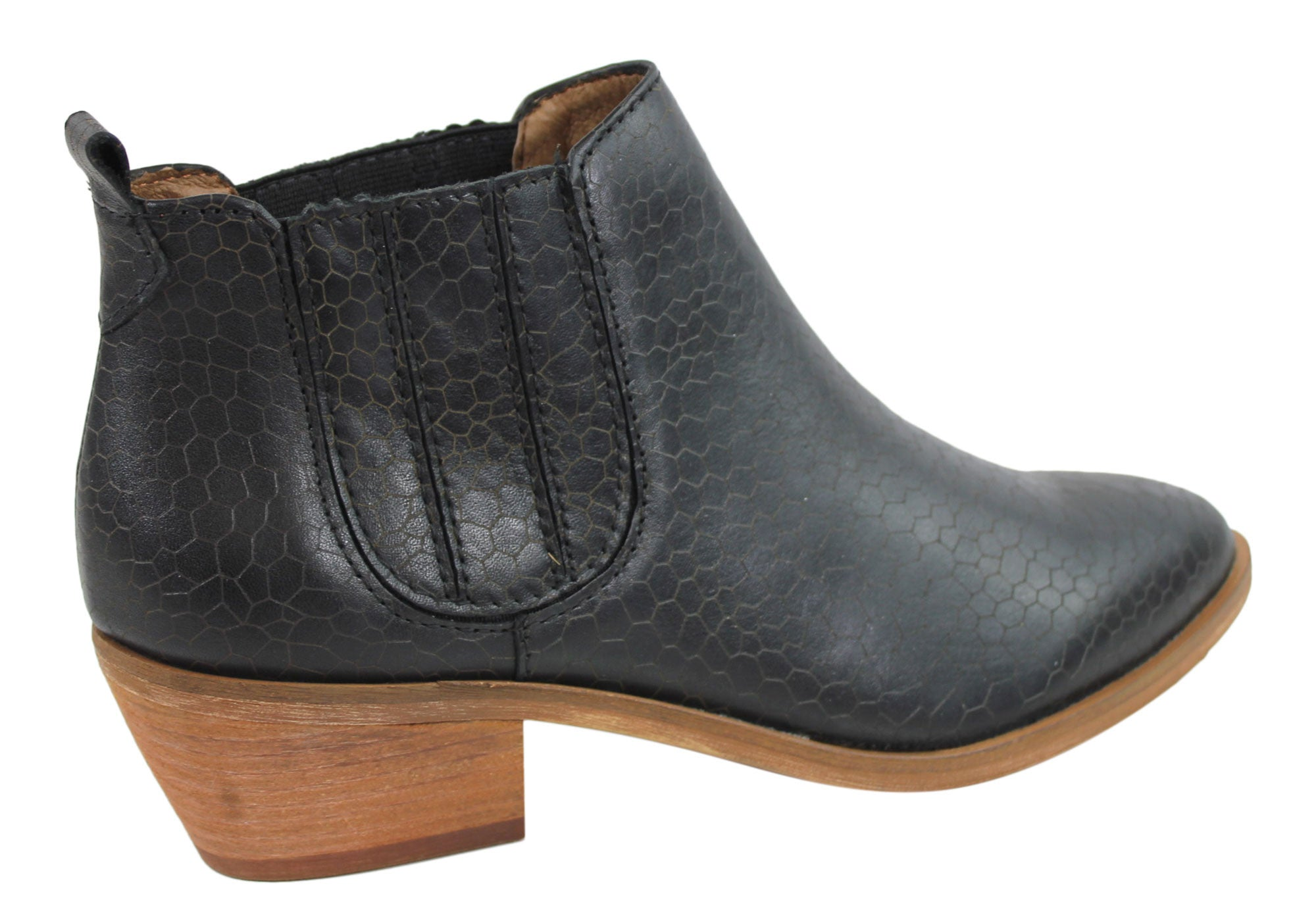 RMK Allie Womens Leather Chelsea Ankle Boots