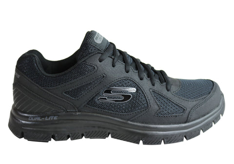 Skechers Mens Flex Advantage Zizzo Comfort Memory Foam Athletic Shoes