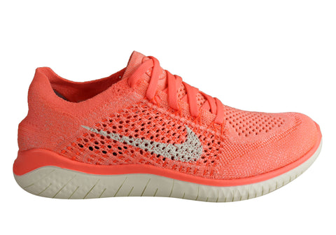 Nike Free RN Flyknit 2018 Womens Lightweight Running Shoes