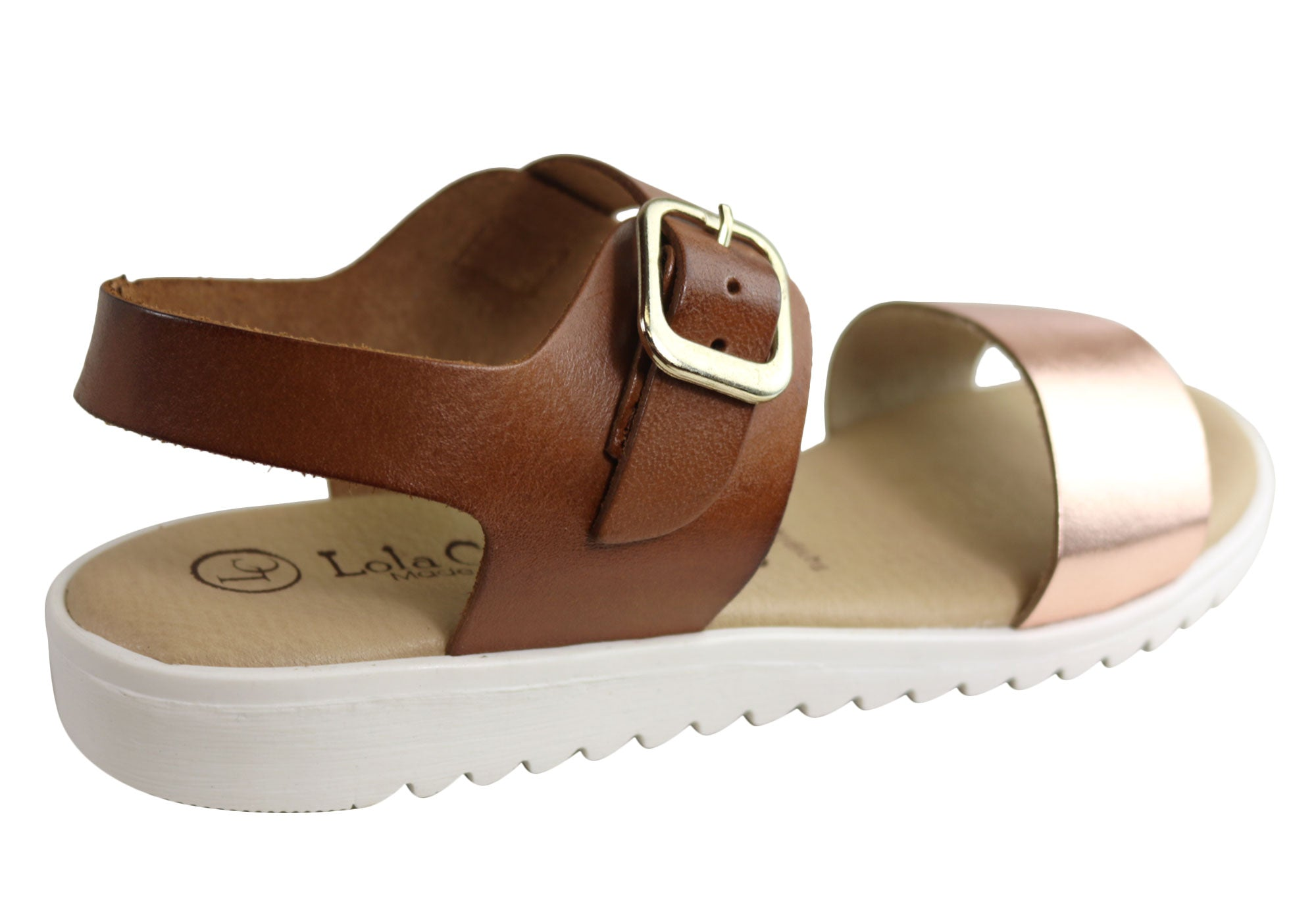 Lola Canales Esta Womens Comfortable Leather Sandals Made In Spain