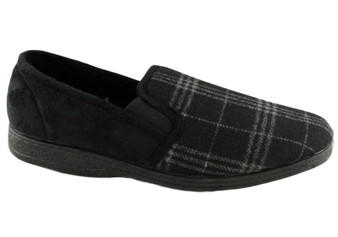 Grosby Fabio Mens Comfortable Indoor Slippers
